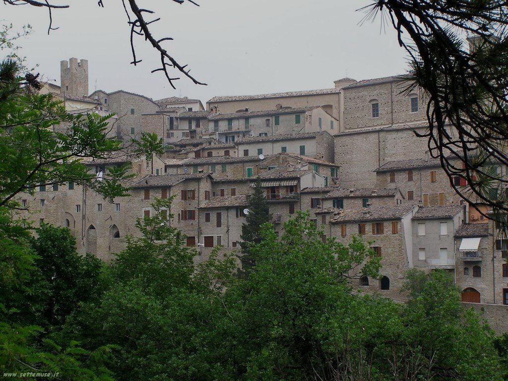 Panorama di Serra San Quirico