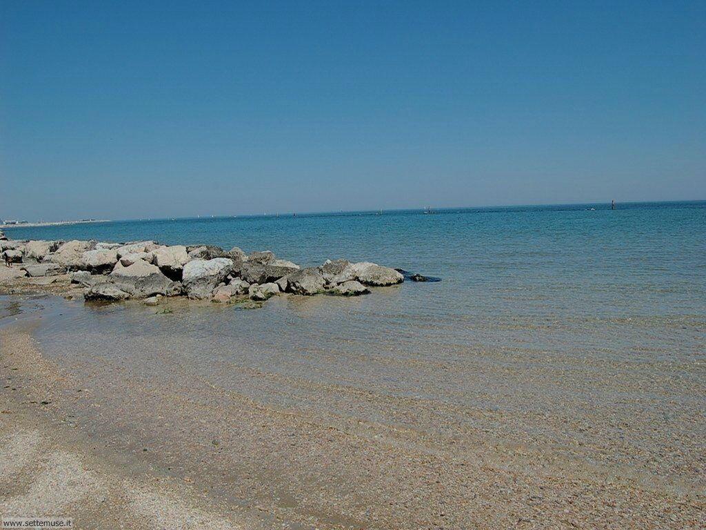 Il mare e la spiaggia di Fano