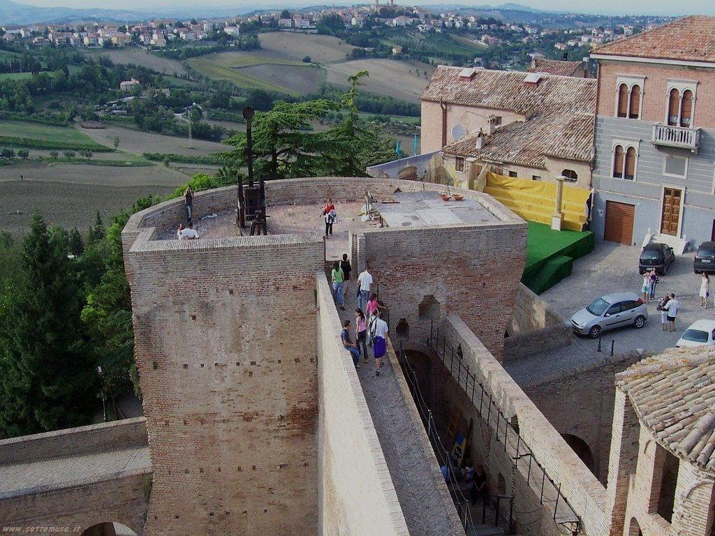 Fano, la Rocca Malatestiana