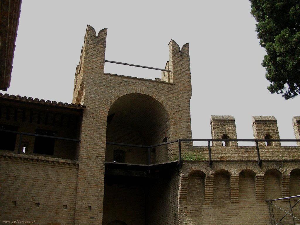 Torrioni nel Castello di Gradara