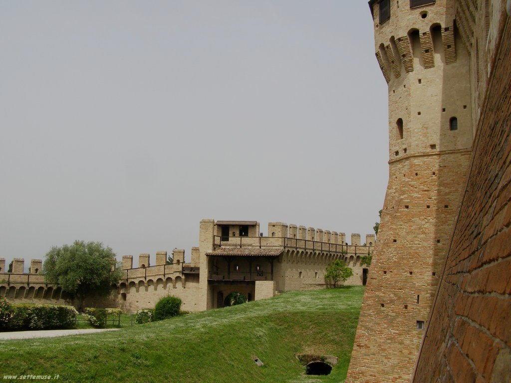 Panorama del Castello di Gradara