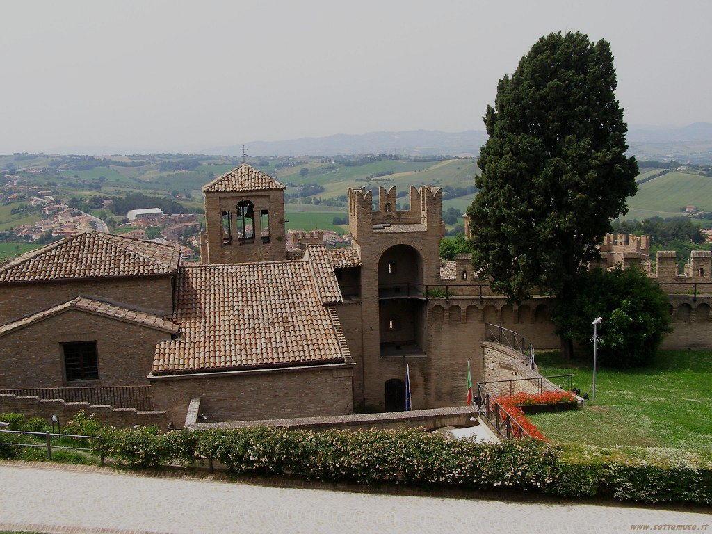 Panoramica del Castello di Gradara