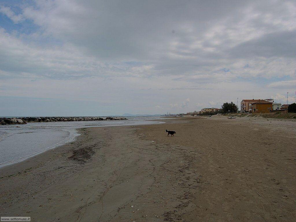 Spiaggia di Marotta fuori stagione