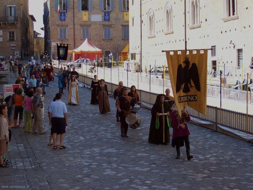 Urbino sfilata