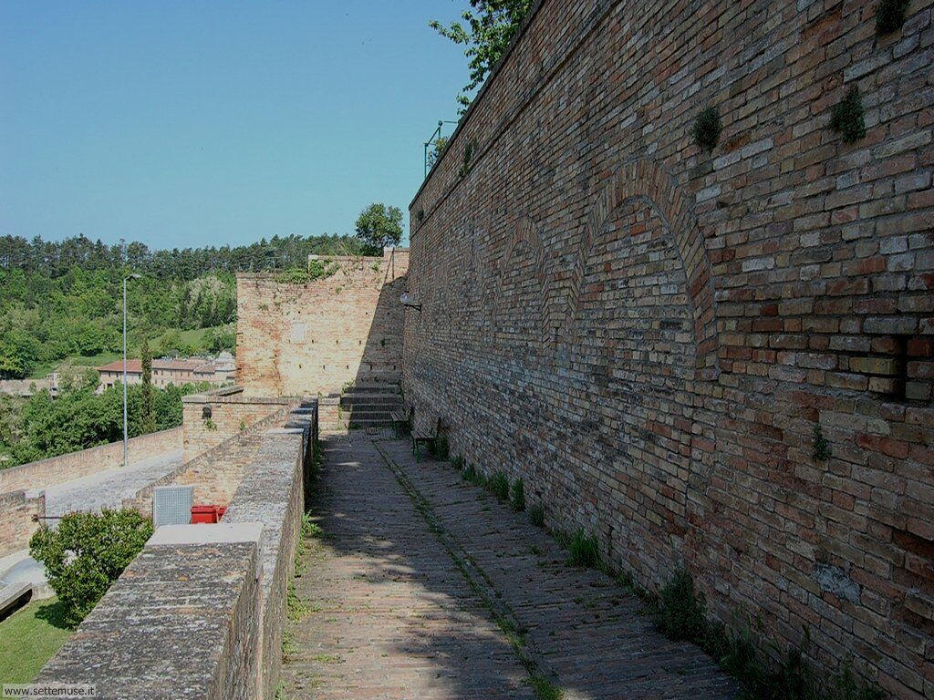 Panorama dalla cinta muraria