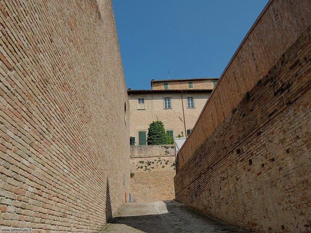 Strade del centro storico di Urbino
