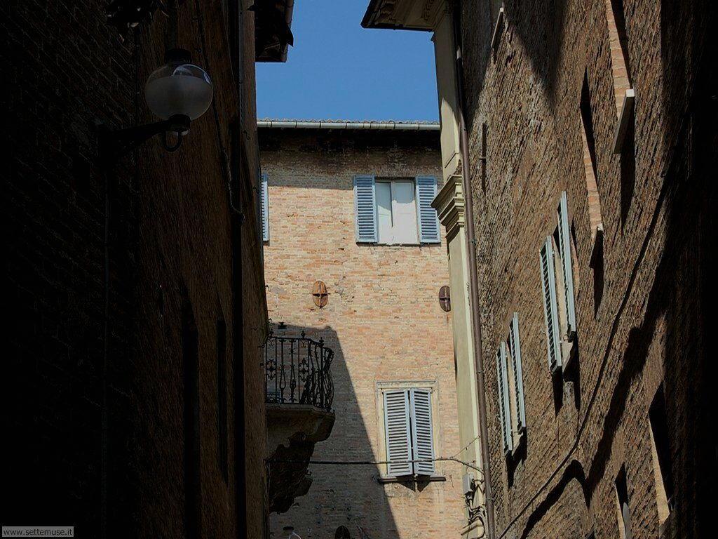 Le antiche case del centro storico