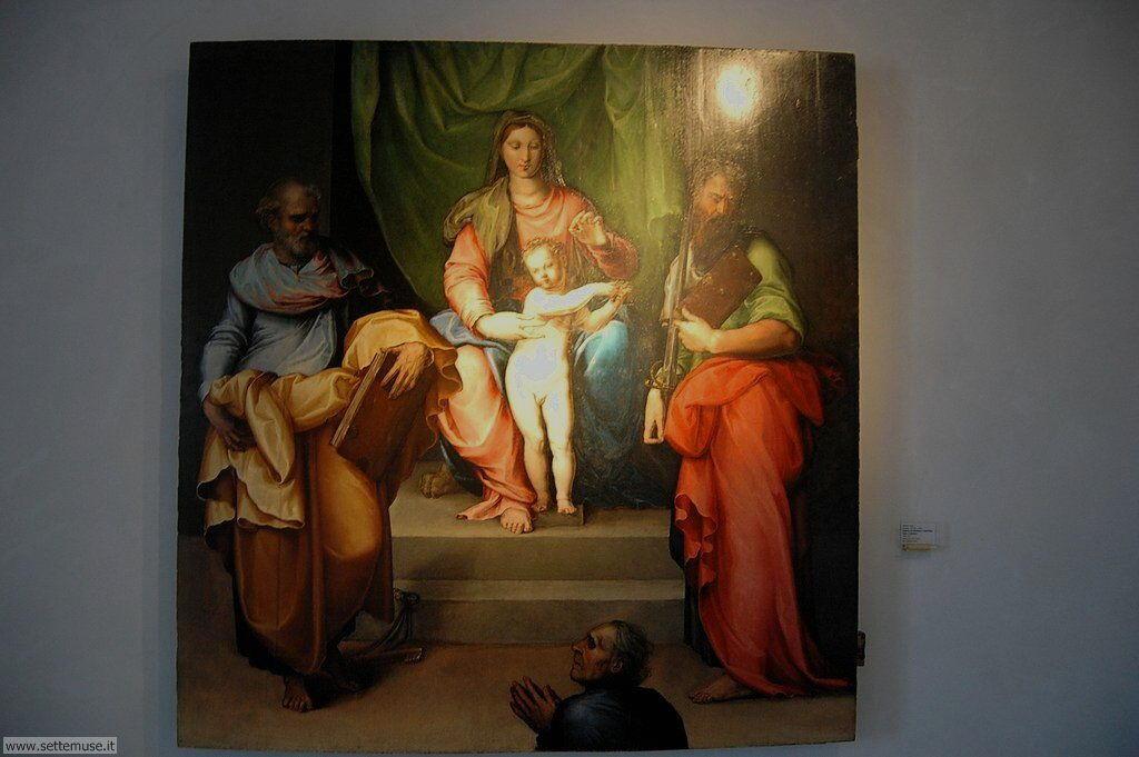 Battista Franco, Madonna con bambino e santi Pietro e Paolo e donatore