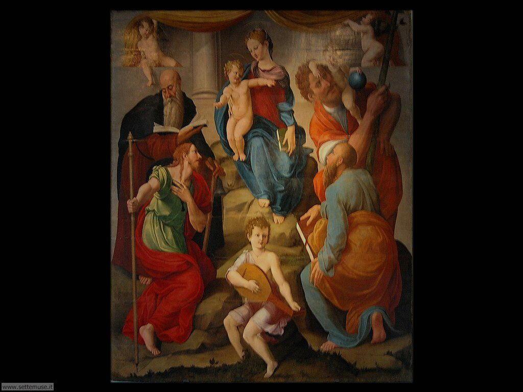 Pierantonio Palmerini - Madonna con bambino e santi