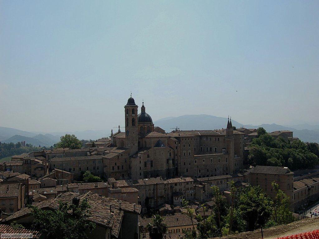 Panorama di Urbino dalla fortezza