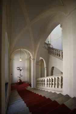 Macerata interno Palazzo Comunale