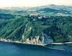 Gabicce Monte - Panorama dal Mare