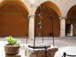 Gradara Cortile della Rocca
