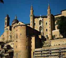 Urbino Scorcio della città