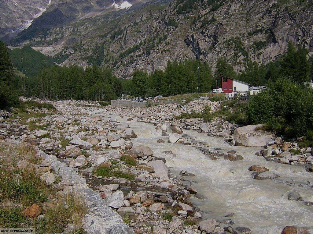 Macugnaga e il ghiacciaio Belvedere