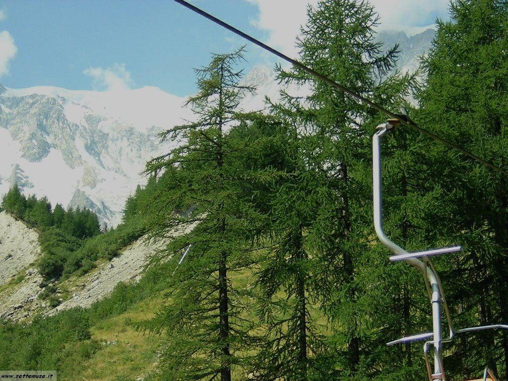 Macugnaga seggiovia per il ghiacciaio Belvedere