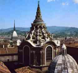 Torino - Cupola del  Duomo