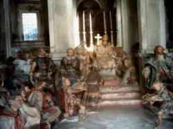 Orta - Sacro Monte - Interno di una cappella
