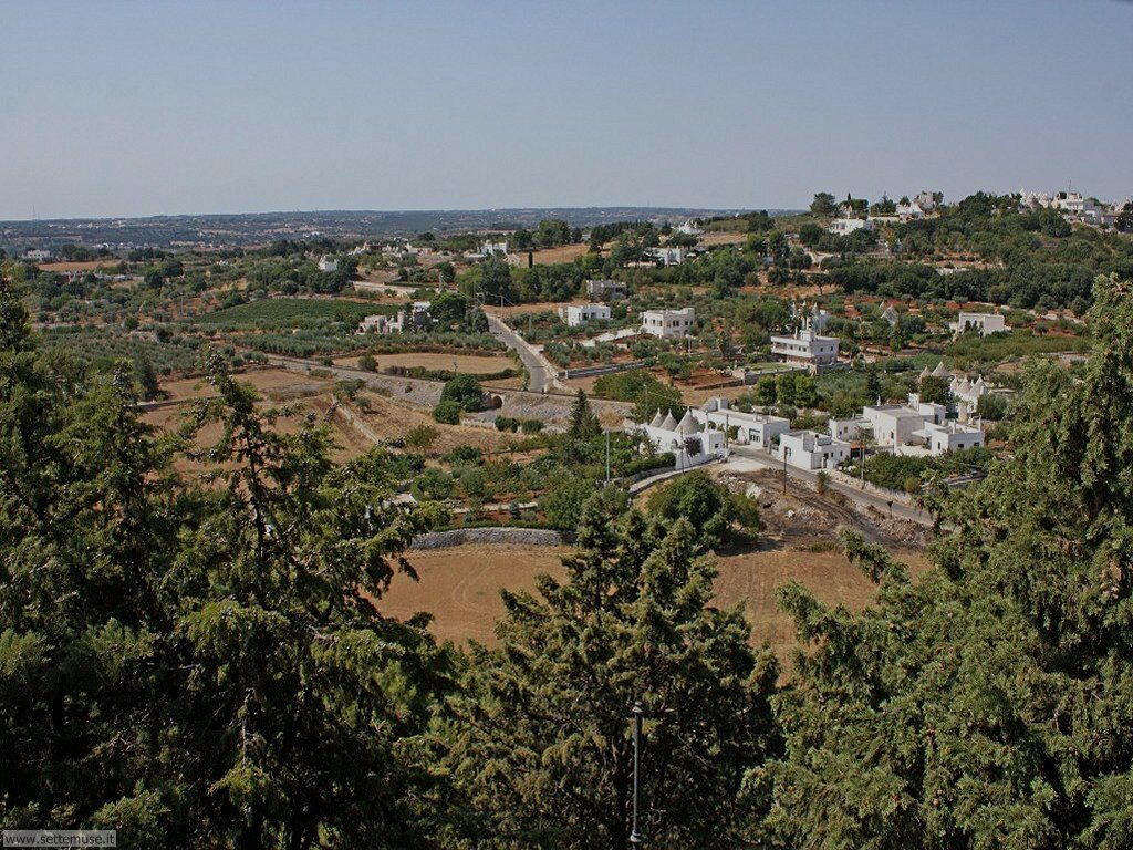 Locorotondo, Valle d'Itria, Murgia