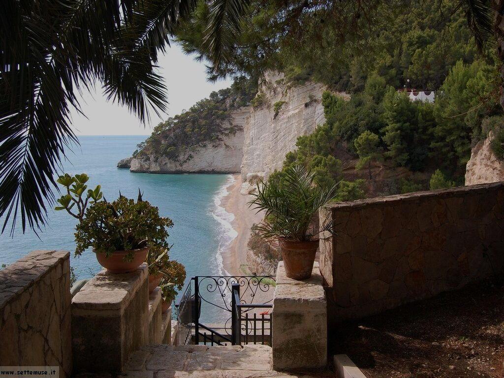 Gargano - Baia dei Faraglioni e delle Zagare