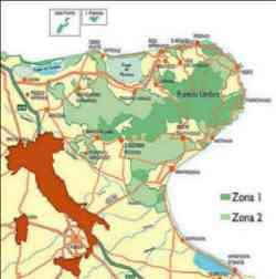 Gargano -Parco Nazionale del Gargano - mappa