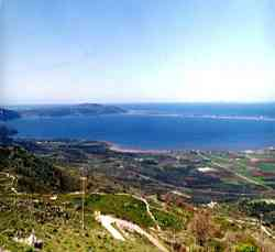 Gargano - Panoramica del Lago di Varano