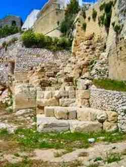 Otranto Resti antiche mura