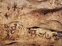 Otranto - Graffiti delle Grotte dei Cervi