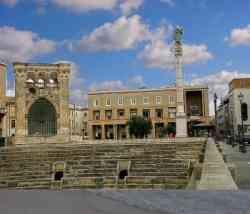 Lecce Anfiteatro e s. Oronzo