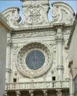 Lecce Facciata di Santa Croce