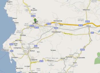 Mappa di Sant'Antioco