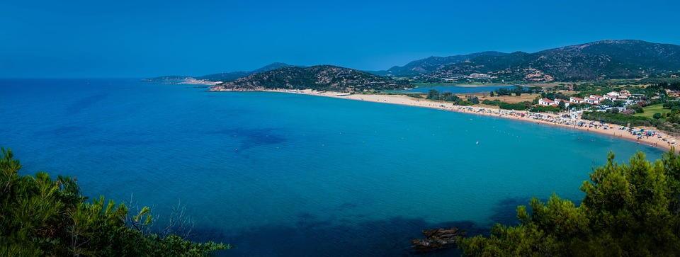 panoramica del nord della Sardegna