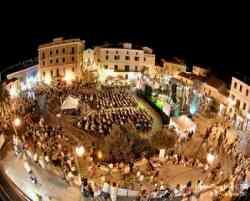 Santa Teresa di Gallura -  La piazza durante una Festa