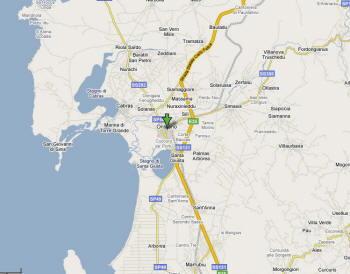 Mappa di Oristano