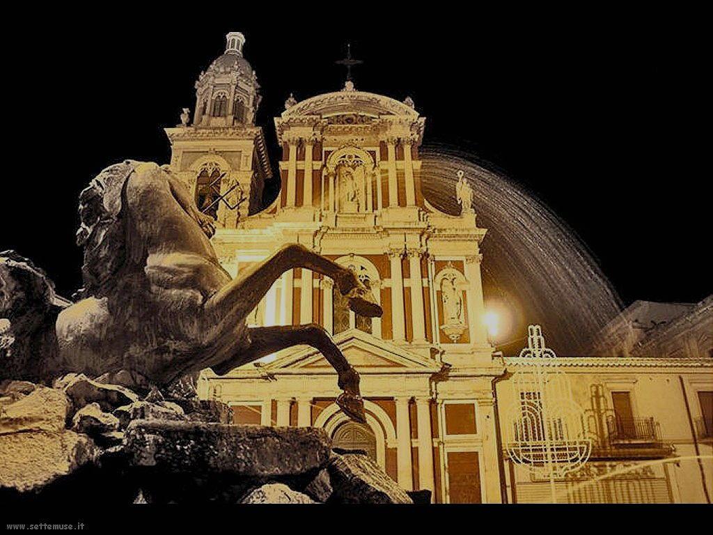 Caltanissetta Fontana del Tritone