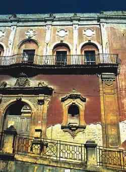 Caltanisetta - Palazzo Scarabelli