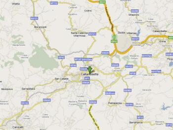 Mappa Caltanissetta