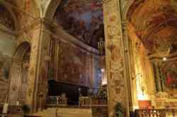 Basilica di San Sebastiano: affreschi