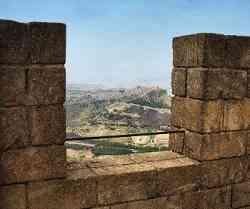 Enna - Veduta dalla torre