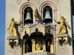 Messina - Particolare dell'orologio