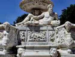 Messina - Fontana di Orione (il Tevere)