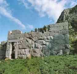Cefalù - Foto del Tempio di Diana