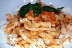 Trapani - Busiate piatto tipico