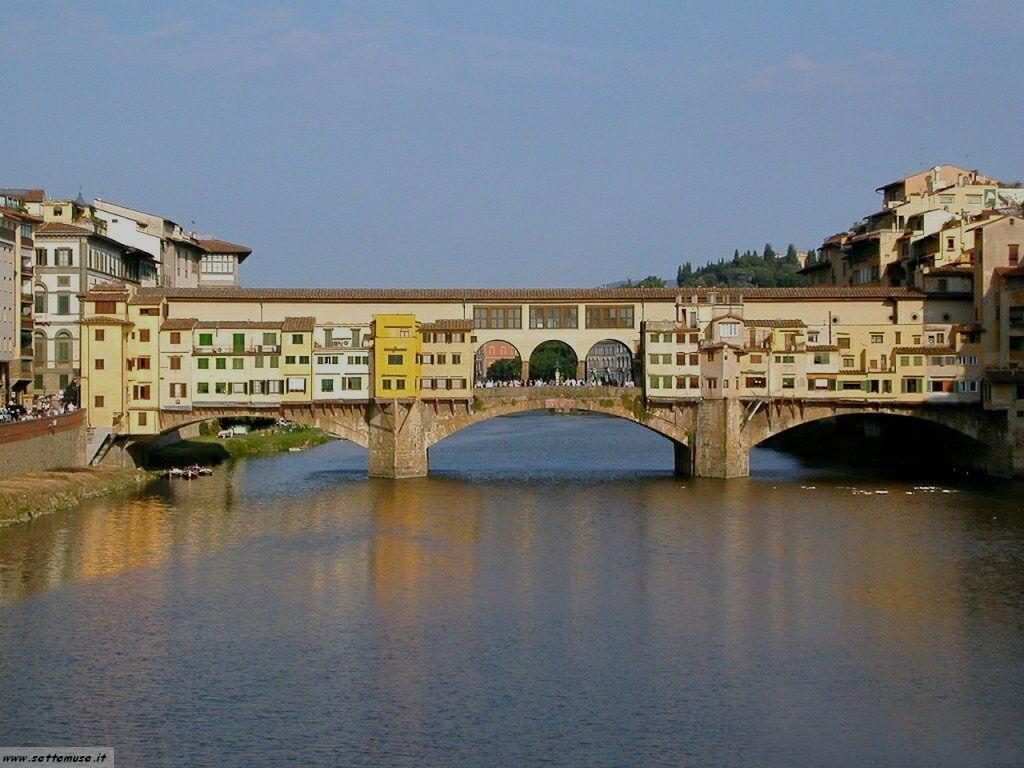 Firenze citt guida dei ponti e foto 2 for Ponte sopra i disegni del garage