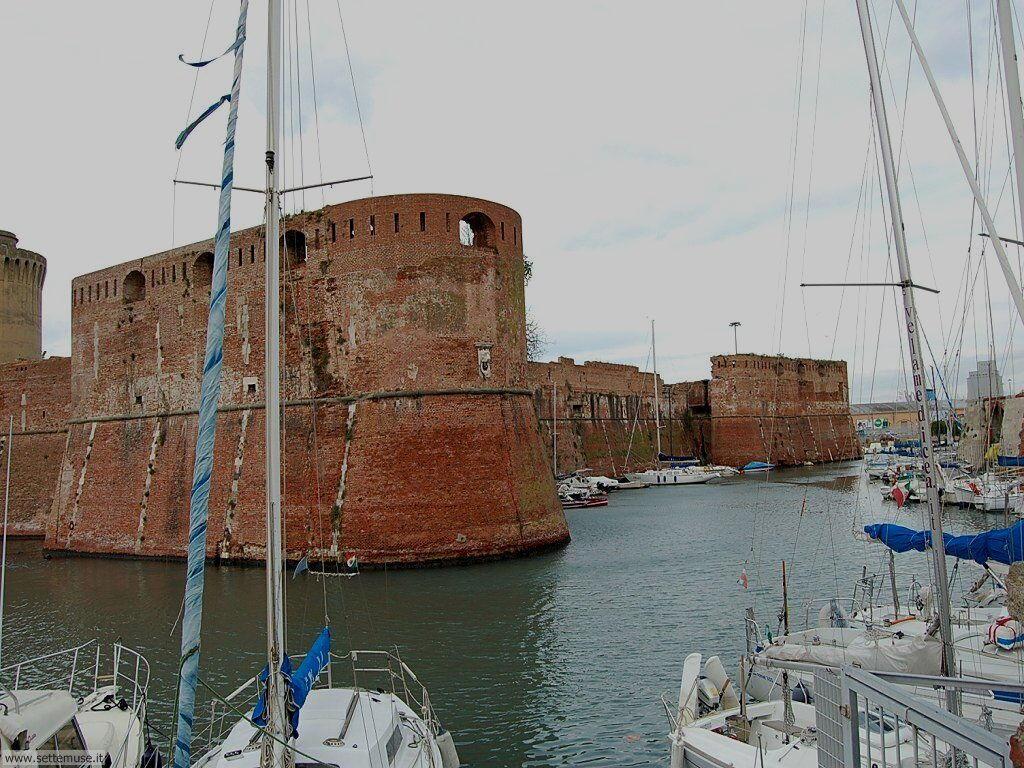 livorno_citta_405 La fortezza vecchia