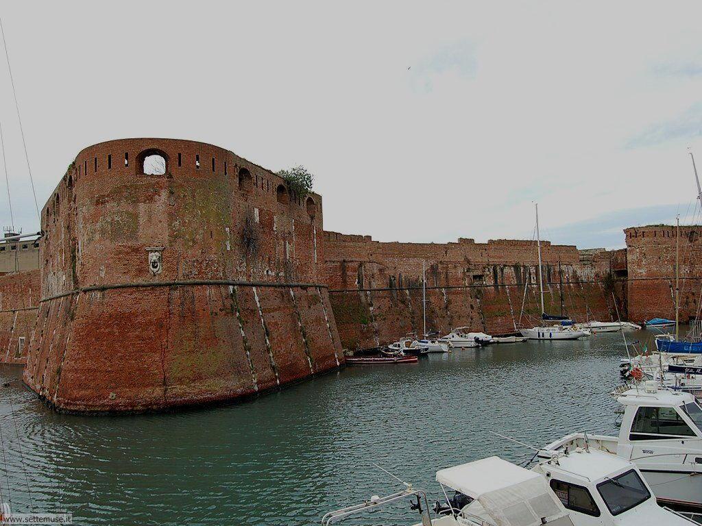 livorno_citta_406 La fortezza vecchia