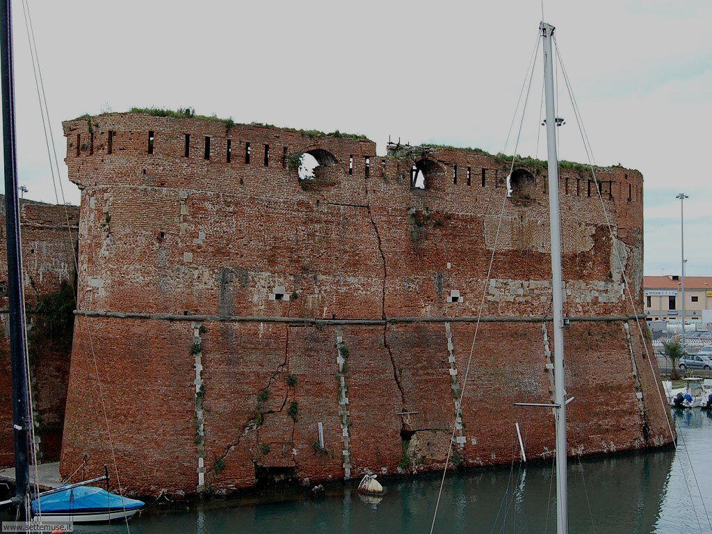 livorno_citta_408 La fortezza vecchia