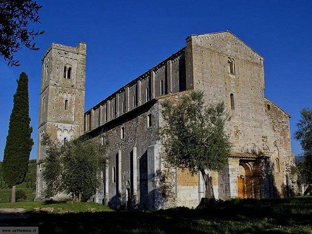 Abbazia Di Sant U0026 39 Antimo  Siena  Guida E Foto