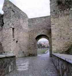 Arezzo antica porta