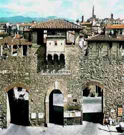 Arezzo - Porta S.Lorentino